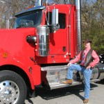 trucker and cab